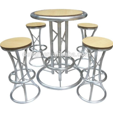 New product 2014 DIY acrylic printing customized exhibition chairs and tables