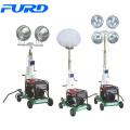 High-output Light Fixtures Generator Mobile Light Tower