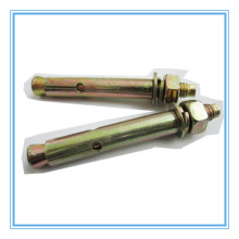 Yellow Zinc Plated Sleeve Enhanced Expansion Anchor/Wedge Anchor Bolt