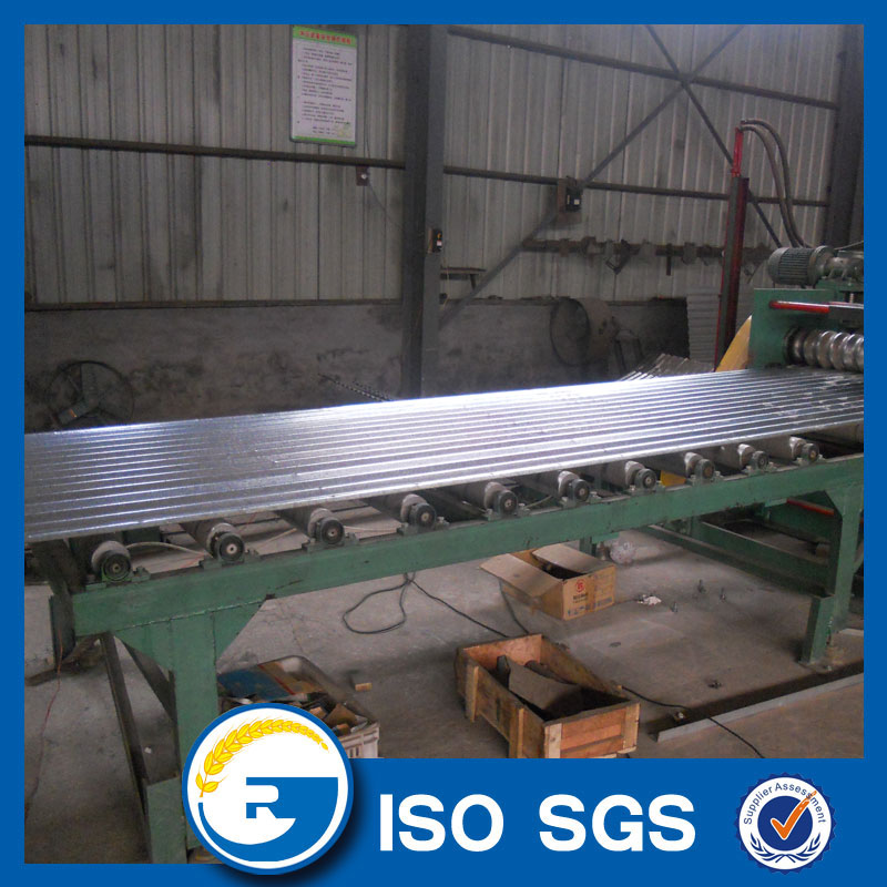 Corrugated silo sheet