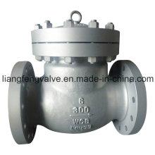 Качающийся обратный клапан из фланца из нержавеющей стали