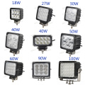 Lampes de travail à la machine à LED 24V 48W 5inch pas cher