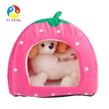 Buena calidad mejor venta coche en forma de cama para mascotas perro