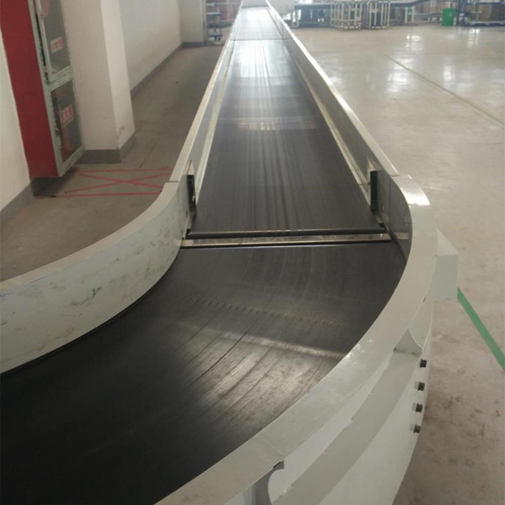 Curve belt conveyors