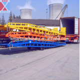 8T Mobile hydraulic loading ramp, unloading ramp, container ramp