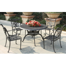 Cast Aluminium Metal Set Outdoor Garden Patio Furniture