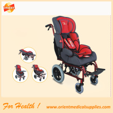 Reclining wheelchair for cerebral palsy