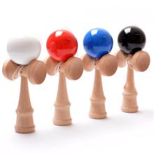 Kundenspezifisches hölzernes USA-Spielzeug kendama