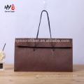 high quality custom elegant brown paper bag