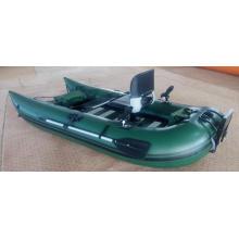 Barco de pontón de pesca volador inflable