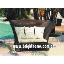 Bubble Weaving Wicker Furniture Sofa Set Bl-228
