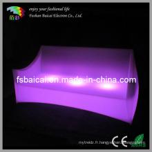 Canapé à LED