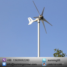 Sunning Small Wind Electric Systems con rodamientos SKF