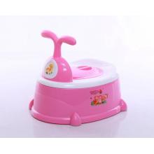 Asientos de tocador de plástico de bebé de alta calidad Nueva silla portátil Potty