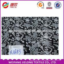 Лучшие продажи искусственный шелк плед ткань 100% вискоза ткань