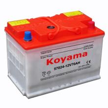 57024 (12V70AH) bateria de carro carregada seca do automóvel DIN70