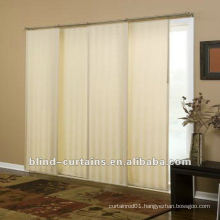 2015 new design Beautiful sliding panel curtains