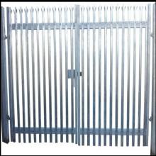 Porte de palissade double feuille de 1,8 m de hauteur