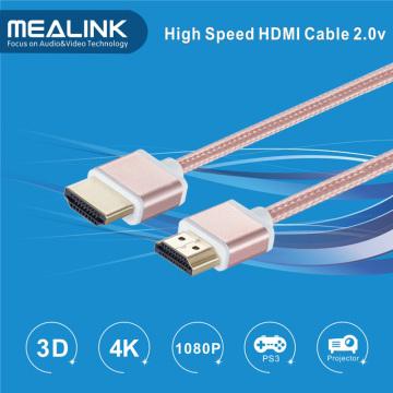 Cable único del diseño HDMI 2.0 1.4V 4kx2k HDMI Cable del VGA