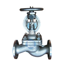steam wcb bellow sealed globe valve - SYI GROUP