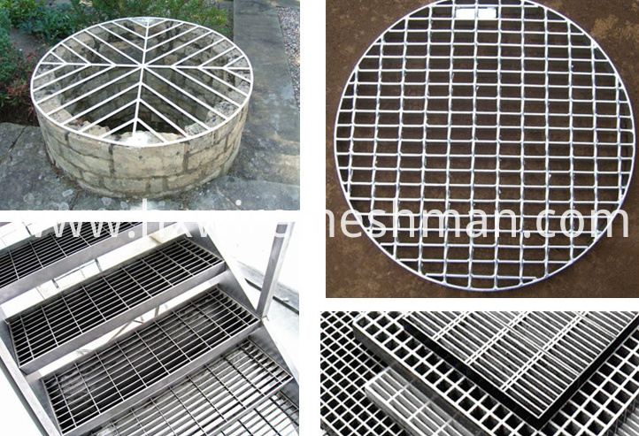 ss bar grating application