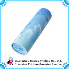 Cajas de regalo redondas de la impresión colorida de alta gama del OEM con el envío gratis