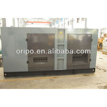 125kva/100kw diesel soundproof generator Cummins with efficient silencer
