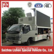 LED reclame voertuig hydraulische lift scherm