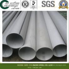 Tubo de aço inoxidável de diâmetro grande soldado 300 Series