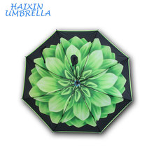 Wholesale Promotional Corporate Gift Printed Advertising Inside Flower Umbrella