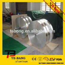 Яркая поверхность 3104 3105 5052 Алюминиевая лента для клейкой ленты H16 H14 H24