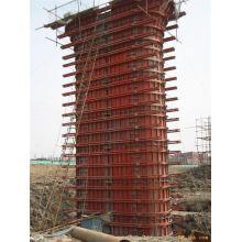 Reusable Bridge Pier Steel Formwork