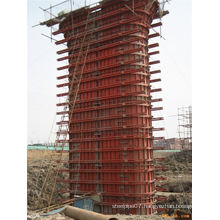 Reusable Bridge Pier Steel Formwork