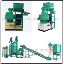 Complete Automatic Biomass Sawdust Fuel Wood Pellet Line/Pellet Machine Production Line