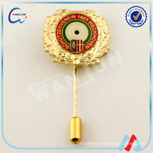 long needle soft enamel lapel pin badge