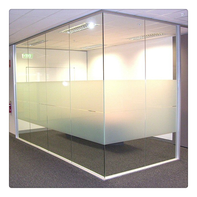 Toughened Office Partition Glass