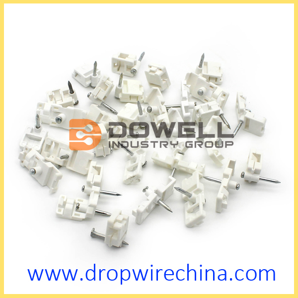 FTTH Cabling Accessory Fiber Optic Cable Clip