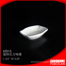 Eurohome rectangle design wholesale dinnerware sauce boat