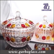 Big Glass Sugar Pot/ Jar (GB1811YD/P)