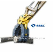 La pinza hidráulica SUNWARD SWE15 SWE17, el accesorio para excavadora, la grapa para madera