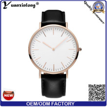 Yxl-569 Factory Price Fashion Watches Men for Wholesale, OEM Men Leisure New Genuine Leather Watches, Fashion Ladies Watch