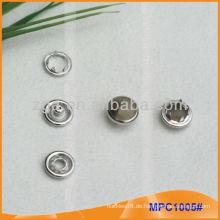 Art- und Weiseperlen-Zacken-Knopf / Greifer für Ihre Qualitätswahl MPC1005