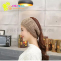 Headband Beanie With The Open Slot for Ponytails 2018 New