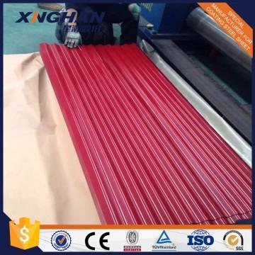 DX51D CSC оцинкованный цветной гофрированный металлический кровельный лист