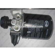 peças de reposição de ônibus zk6127 yutong 3529-00007 secador de ar com muffer
