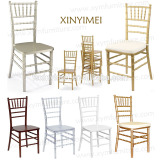 hot sale low-cost wood chiavari chair