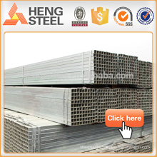 Galvanized Square Tube / Galvanized Hollow Section Prime Quality