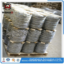 Pvc Coated Galvanized Razor Barbed Wire