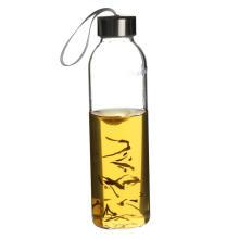 Cofre de garrafa de água de vidro pyrex de transporte para crianças