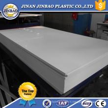 panneau d'affichage en plastique blanc de PVC par prix de feuille